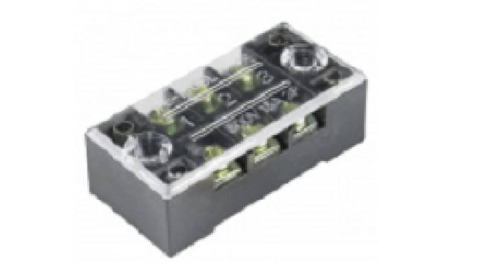 (Un bolígrafo que presiona hacia abajo la pestaña del jugador: el conector poke-home del bit para conectar un trozo de cable.)