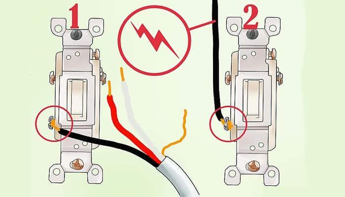 Cómo identificar un interruptor de 3 vías