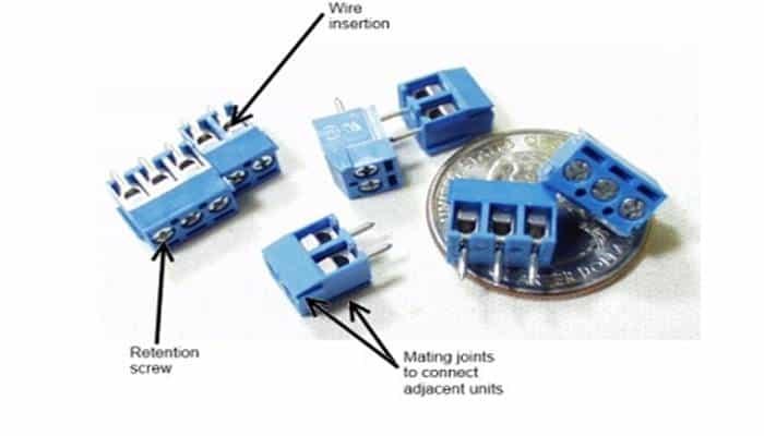 Terminales de tornillo de paso de 3,5 mm