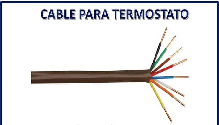 Cable del termostato