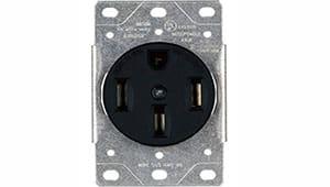 Tomacorrientes eléctricos de 120/240 voltios