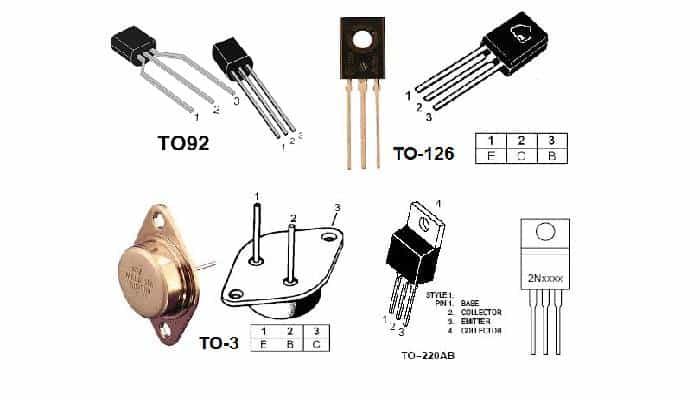Tipos De Transistores Bipolares
