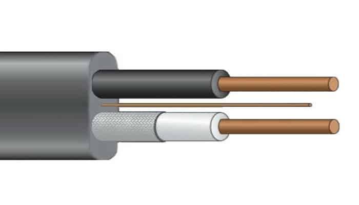 Tipos de cables eléctricos UF - B