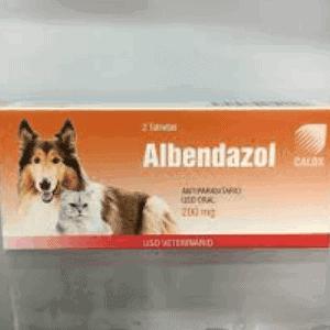 Albendazol para perros