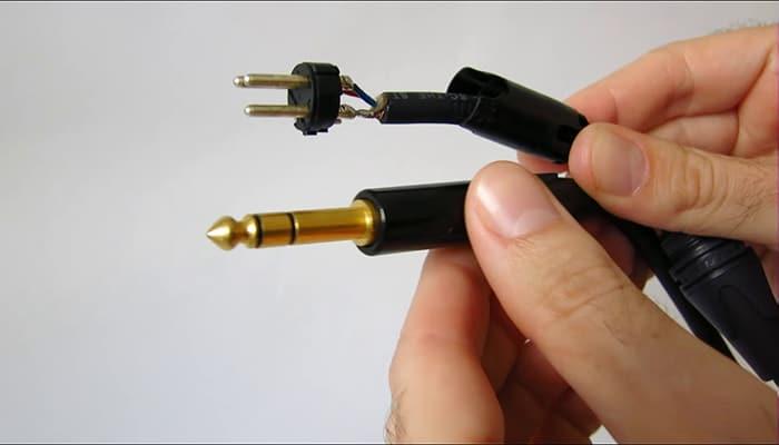 Conectores de audio de ¼