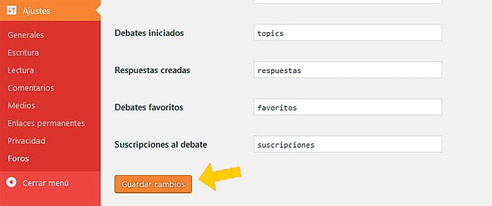 08 URL de foro simple y usuarios