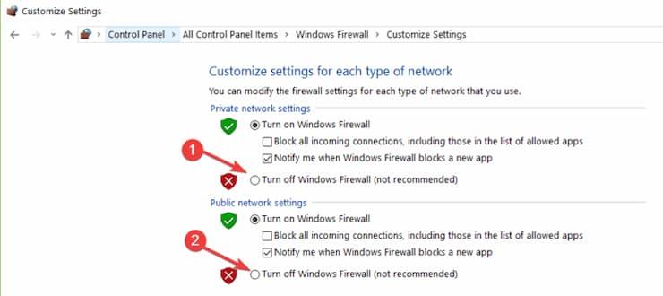 problemas con Avast Antivirus en Windows 10