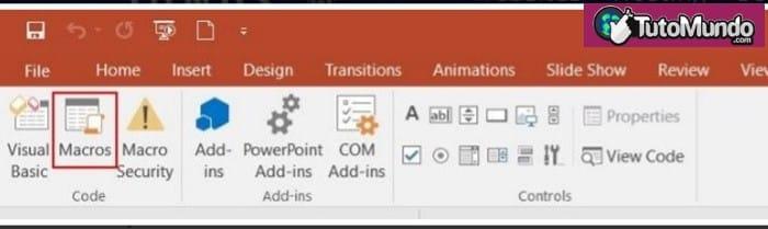Ejecutar una macro de PowerPoint que haya creado a través del menú de macros