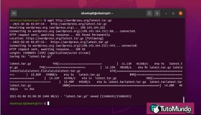 Descargar y configurar WordPress en Ubuntu