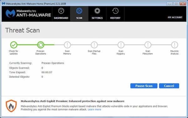eliminar malware de Firefox