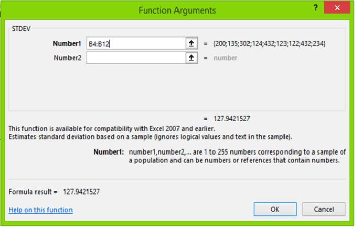 Figura 11 - Hacer gráficos de control en Excel