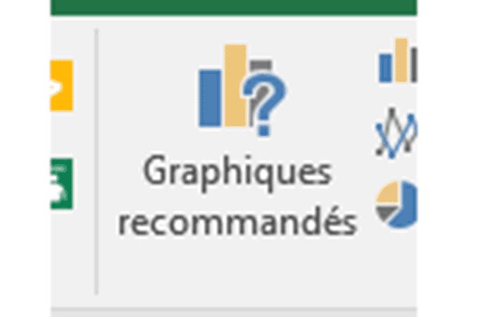 Insertar> Gráficos recomendados