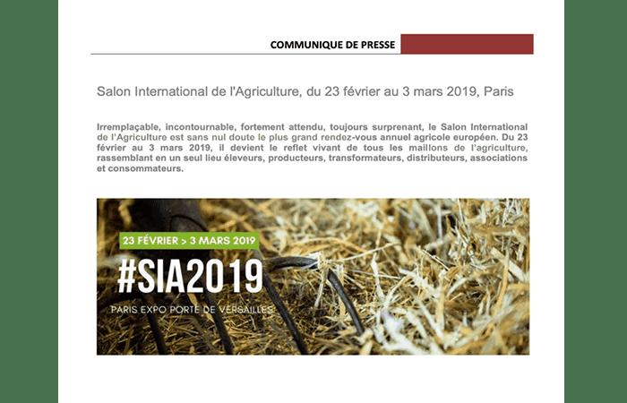 Exposición Agrícola Internacional 2019